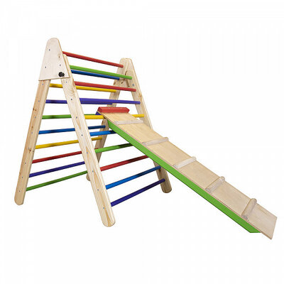 Детский деревянный тринажер пиклера - Цвет