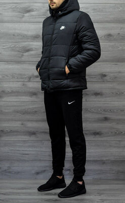 Комплект зимняя куртка и теплые штаны