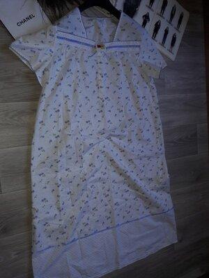 Продано: M&S Длинная ночная рубашка р 16-18 сток