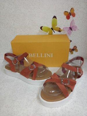 Замшевые босоножки на платформе Bellini белллини Италия.