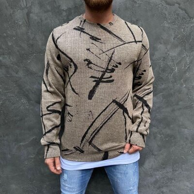 Мужской свитер джемпер 3 цвета