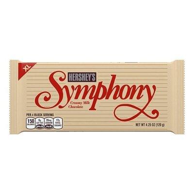 Продано: Hershey Symphony кремовый молочный шоколад Сша 120 грамм extra large creamy milk chocolate