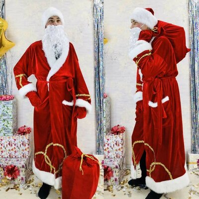 Продано: Костюм Деда Мороза отличный вариант для Нового года утренник корпоратив