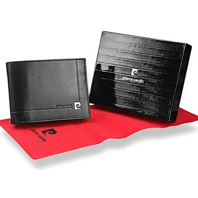 Продано: Мужское кожаное портмоне Pierre Cardin 325-YS501.1 без застежки
