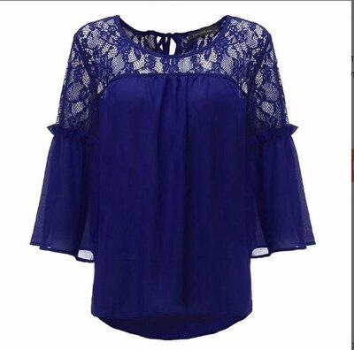 Шикарная блузка большой размер