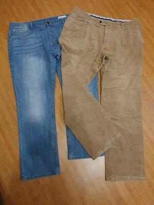 Мужские вельветовые брюки штаны 56 р rover & lakes