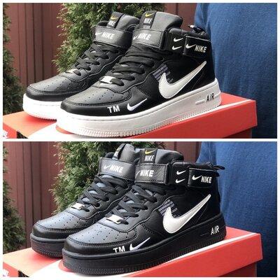 Мужские демисезонные кроссовки-ботинки Nike Air Force р. 41-45