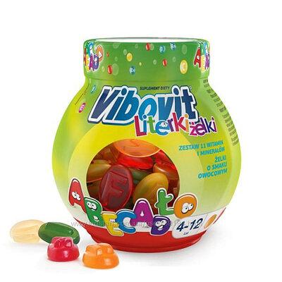 Желейные витаминки Vibovit Польша для детей от 4 до 12 лет