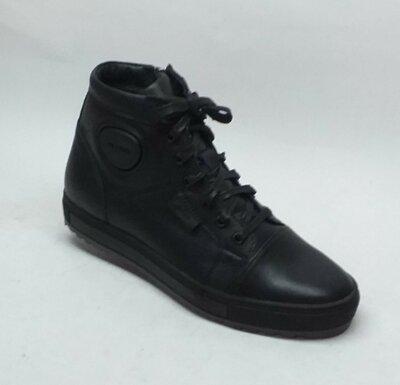 Мужские кожаные ботинки Мида 14050