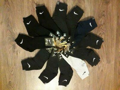 Мужские махровые носки Nike и Adidas