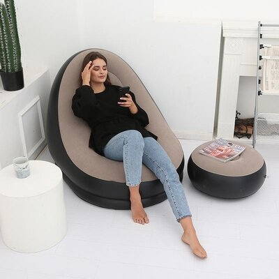 Кресло и пуф надувные Jilong SKL11-265774