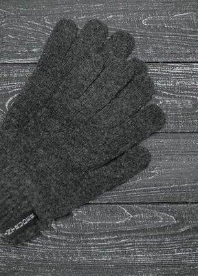 Перчатки intruder серого цвета. унисекс