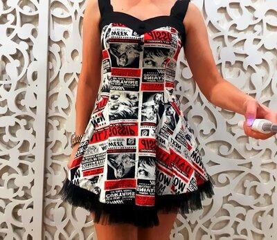 Роскошное платье XS / SМонро для торжества нарядное пышное эксклюзив