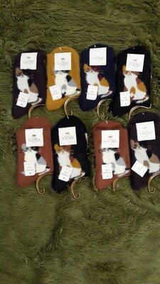 Жіночі шерстяні носки з махрою Корона