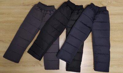 Зимние брюки для мальчиков и девочек, р.98-140