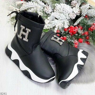 Продано: Стильные женские зимние ботинки на Limits