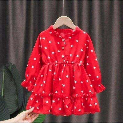 Сукня для дівчинки червона