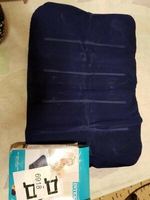 Надувная подошка синяя
