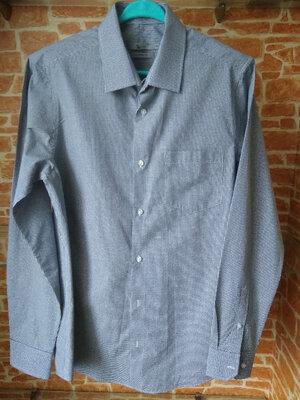 Фірмова сорочка Tu Tailored Fit M розмір в дрібну клітинку