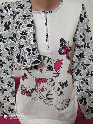 Пижама женская реглан штаны, Узбекистан 42,44,46,58,50