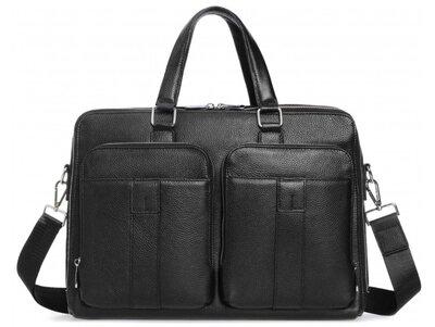 Мужская кожаная сумка для ноутбука Бесплатная доставка RB-018A портфель натуральная кожа