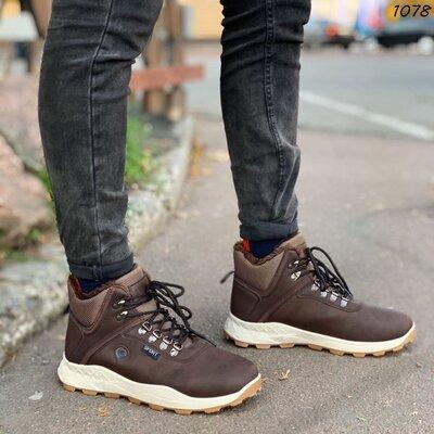 1078 ботиночки зимние, мужские спортивные ботинки зимние, мужские кроссовки зимние