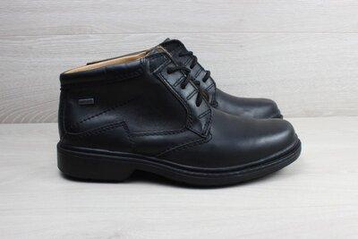 Продано: Кожаные мужские ботинки Clarks gore-tex оригинал, размер 41