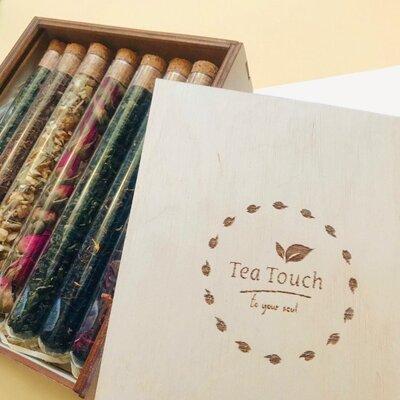 Продано: Чай в пробирках, подарочный набор чай