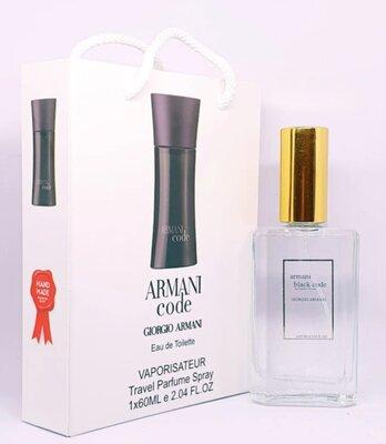 Giorgio Armani black code 60ml Тестер Подарочный Пакет