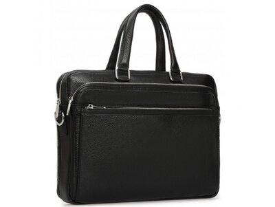 Мужская кожаная сумка для ноутбука Бесплатная доставка RB-010A-1 портфель натуральная кожа