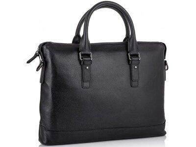 Мужская кожаная сумка для ноутбука Бесплатная доставка SM8-9606-3A портфель натуральная кожа