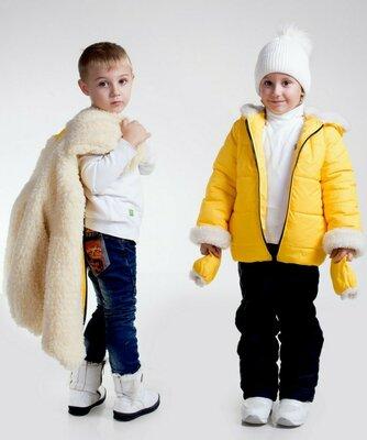Распродажа Детская очень теплая куртка