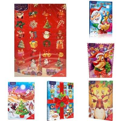 Адвент календари Excellent Baron Christmas Advent Calendar 75 g