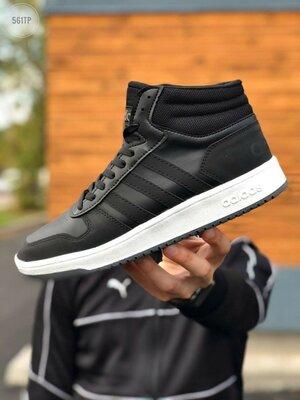 Мужские кроссовки Adidas Black/White
