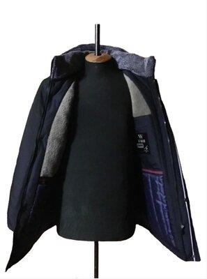 Мужская куртка зимняя на меху 46 48 50 52 54 56 до -25