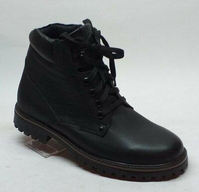 Мужские кожаные ботинки Мида 14060 шипы