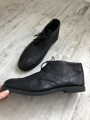 Классические кожанные ботинки Timberland р.46