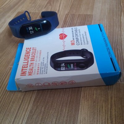 Smart Bracelet M3 Plus фитнес браслет-часы