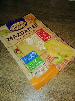 Сыр Wloszczowa Mazdamer нарезка 450 г