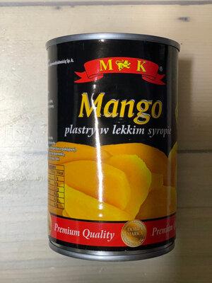 Манго ломтиками в легком сиропе M&K 425 г Польша