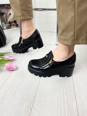 Туфли женские натуральная кожа брэнд Kluchini