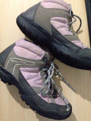 Термо ботинки Quechua размер 34, стелька 21,5 см