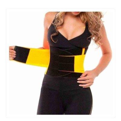 Продано: Спортивный утягивающий пояс с эффектом сауны - hot shapers belt power.