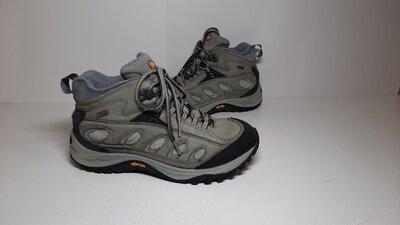 Кожаные трекинговые кроссовки,ботинки Merrell Меррел Continuum, 40р,стелька25,5см, хорошее состоян