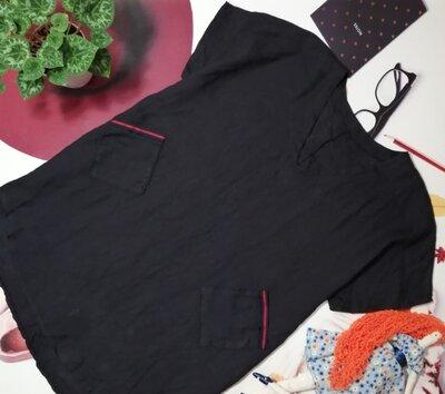 Льняное платье, размер L/XL, Италия