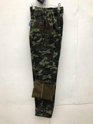 Продано: Камуфляжные теплые штаны, камуфляжные штаны