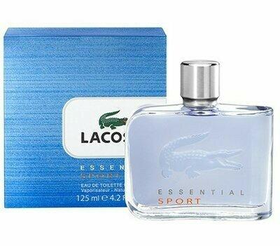 125 мл Lacoste Essential Sport мужская туалетная вода, парфюм, Лакост спорт голубой, Духи