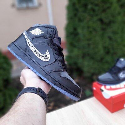 Кроссовки мужские Nike Air Jordan 1 Retro, рефлективные