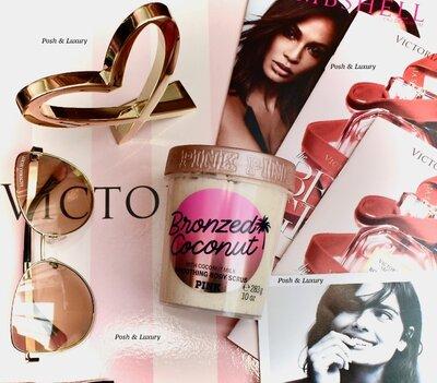 Кокосовый скраб Victorias Secret, Pink. Cкраб Вікторія Сікрет, Пінк. Викториас Сикрет