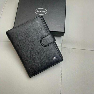 Кожаный мужской кошелек портмоне кожаное мужское